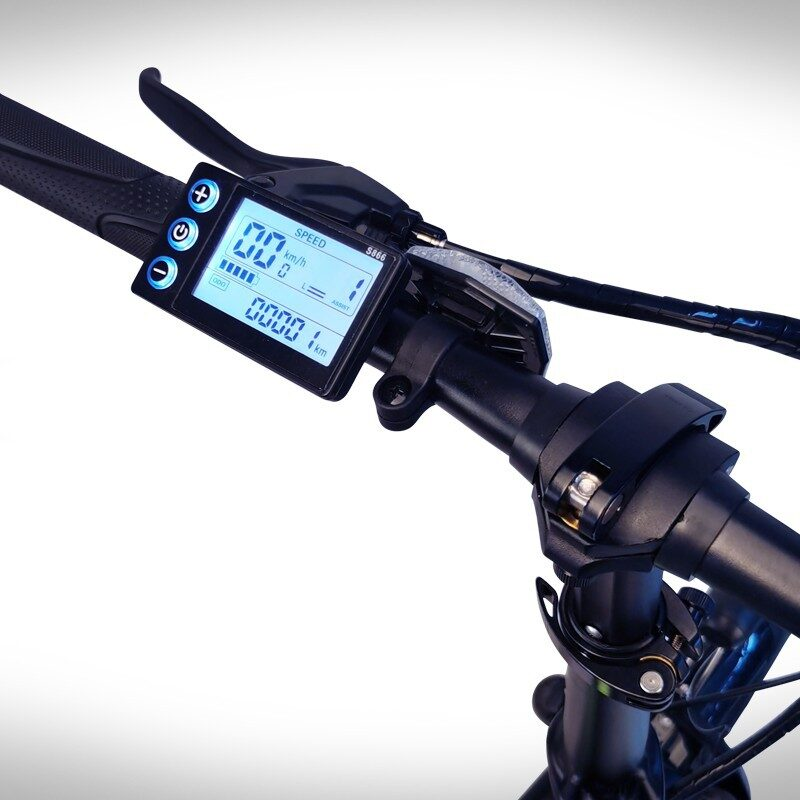 Beaster BS115B Elektriskais velosipēds (Melns)