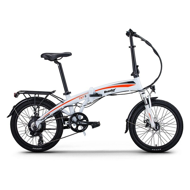 Beaster BS115W Elektriskais velosipēds (Balts)