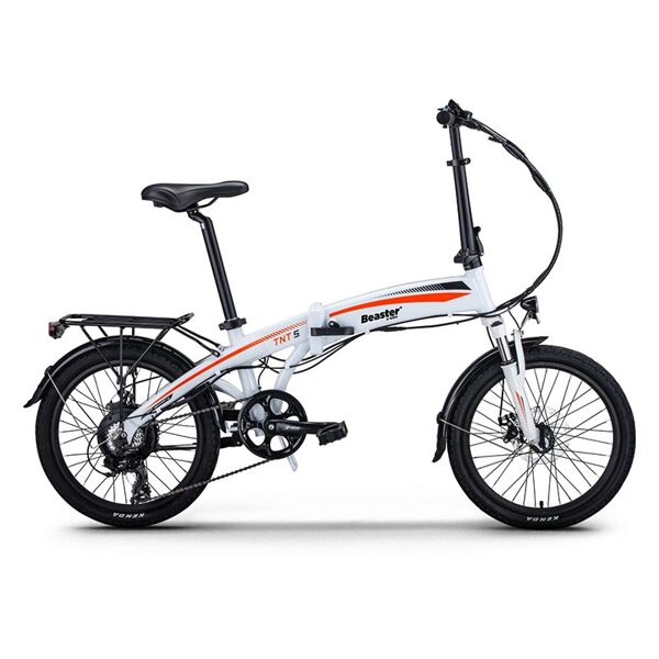 Beaster BS115W Electric bicycle (White)
