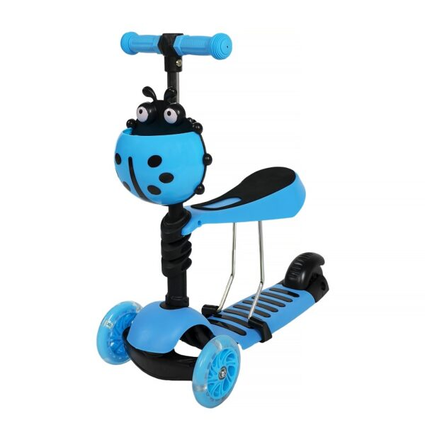 Three-wheel scooter 5in1 (Blue)